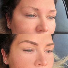 Feminine Back Tattoos, Brow Liner, Brows, Pearl Earrings, Make Up, Skin Care, Beauty, Wound Healing, Eyebrows