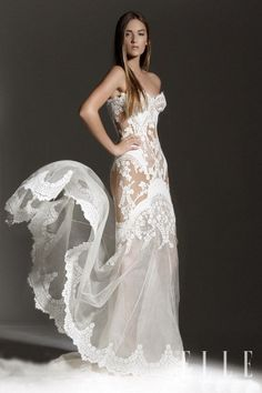 Leah Da Gloria Wedding Dress  love the bodice wish it was a mermaid