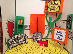 Fun art appreciation lesson that allows students to research artists and create a room in the style of a great artist.