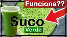 → Suco Verde 👉 Benefícios e Receita Rápido Fácil e Barato Vix