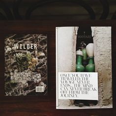 wilder magazine and wayfare magazine