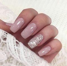 @jillrules169 Silver Glitter Nails, Glitter Nail Polish, Acrylic Nails, Nail Art For Kids, Sassy Nails, Pastel Nails, Colorful Nail Designs, Nail Polish Designs, Wedding Nails