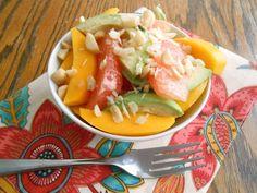 flora foodie: Grapefruit, Avocado & Mango Fruit Salad