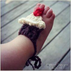 Manténgase en Calcetines del Bebé de Little Pinzas arco rosado Spot
