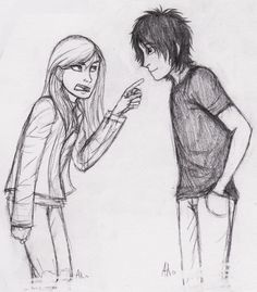 You And I Will Have Words! by Deesney.deviantart.com on @DeviantArt ( Sadie & Anubis from The Kane Chronicles)