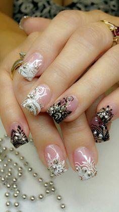 Gala night nails