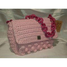 Χειροποίητη τσάντα ροζ