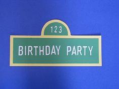 DIY birthday invitations...