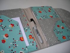 Journal and Stationary Organizer and Cover by bbags4u on Etsy, $22.00