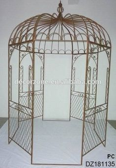 Ornamental Wrought Iron Gazebos For Sale,Metal Garden Gazebo Photo, Detailed…