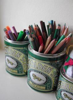 Oldest unchanged packaging design. Kids Storage, Storage Organization, Tin Can Alley, Victorian Kitchen, Activities For Kids, Activity Ideas, Golden Syrup, Art Supplies, Packaging Design