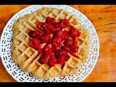 3 Ingredient Vegan Waffles - High Carb Low Fat Recipe