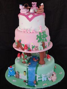 wow teddy bear cake