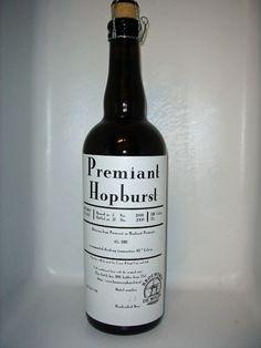Cerveja De Molen Premiant Hopburst, estilo India Pale Ale (IPA), produzida por Brouwerij de Molen, Holanda. 6.2% ABV de álcool.