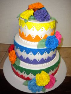 Fiesta Cake Mexican Cake