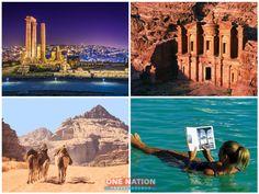 Jordan Tourism, Jerash, Wadi Rum, Amman, 8 Days, Amazing Destinations, Petra, Monument Valley, Jordans