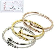 Celebrity Inspired bracelet.  Perfect for gifts for all occasions. Perfect for matching with your significant other also!  Thanks for visiting! Visit our full store at http://thatedge.storenvy.com/ !  • Material: Stainless Steel • Bangle/Handcuff Color : Please Choose Color (as Shown as t...