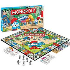 The Smurfs™ Monopoly® - Awesome