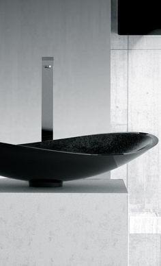 Maestrobath   Pert Infinity Sink in Starlight Black