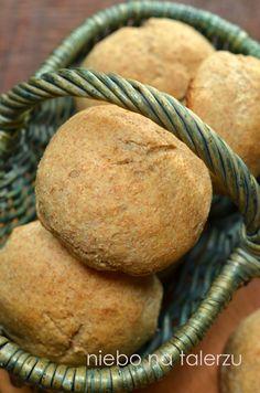 bułki grahamki Food Inspiration, Graham, Fries, Menu, Potatoes, Bread, Baking, Vegetables, Gd