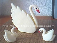 swan, Polymer Clay girl, masa flexible, cold porcelain, masa francesa, porcelana fria