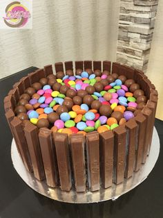 Kit Kat, M&M, Smarties Cake :-)