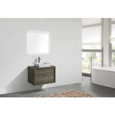 Shop for KubeBath Tucci Modern 30-inch Single Bathroom Vanity. Get free delivery at Overstock.com - Your Online Furniture Outlet Store! Get 5% in rewards with Club O! - 19227607