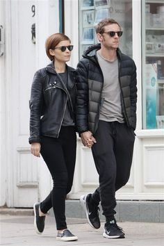 Kate Mara and Jamie Bell are spotted out and about in London on July 13, 2016.