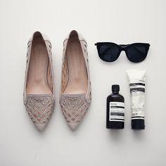 [[DC] 슬림 펀칭 Shoes]