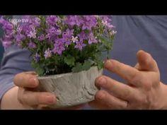 Pflanzenkübel und Windlichter aus Beton | Kaffee oder Tee? - YouTube