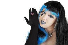 DIY Halloween Hair: DIY Halloween Hairstyles : Halloween Hair Diy Hairstyles, Halloween Hairstyles, Halloween Costumes, Diy Halloween, Blue Hair, Wigs, Hair Styles, Fall, Google