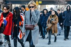 9 Fashionistas Who Prove You Can Look Stylish in Freezing Temps via Brit + Co.