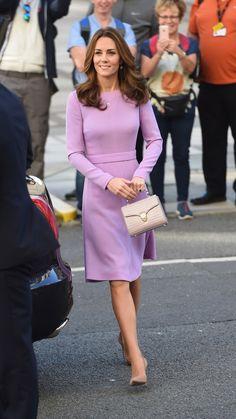 059c5c242e7 Kate Middleton Wore Her Favorite Lavender Dress Again (  It s Still In  Stock)