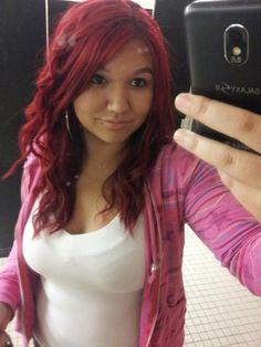 Hårfärg Röd And Rött Hår On Pinterest Splat Hair Color Packaging