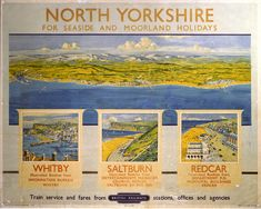 North Yorkshire Railway Poster