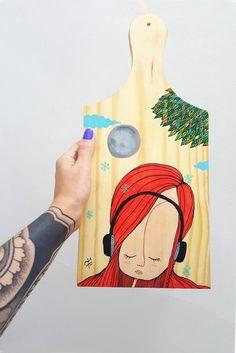 arte com caneta posca
