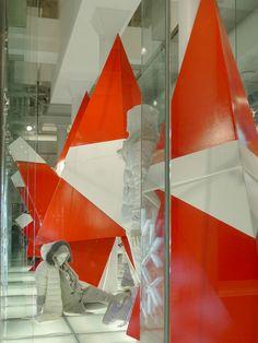 Mona Kim projects: Uniqlo window installations