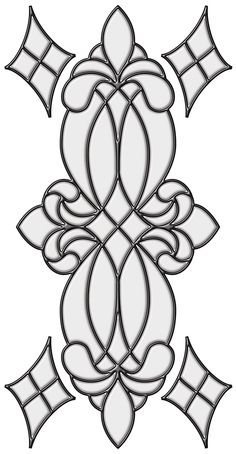 Brewster 93806 Vineyard Stained Glass Peel & Stick Wall Decal, Clear
