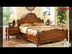 Some simple and classical double size bed design you can find here. Hope you like this bed design video. Bed Designs With Storage, Wooden Sofa Set Designs, Wood Bed Design, Wooden Bedroom, Bedroom Furniture, Furniture Design, Teak Furniture, Bed Designs Pictures, Modern Wood Bed