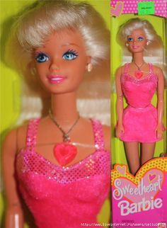 Sweetheart Barbie 1997. My first Barbie.