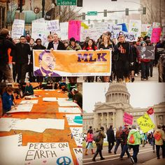 Monday you're invited to join #BoiseState's Martin Luther King Jr. March and Rally hosted by @mlklivinglegacy  9:00 a.m.  Create personalized posters and signs in the Boise State Student Union Jordan Ballroom  10:30 a.m.  March begins at the Jordan Ballroom and concludes at the Capitol steps in Downtown Boise. Join in anywhere along the march route. A rally at the capitol steps will follow and includes student speakers and performances. Afterward join the State of Idaho celebration in the…