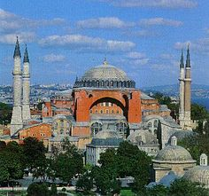 The Hagai Sophia:   This is a cheat as I've already been  here, but for me this is the building on which all my dreams are made.