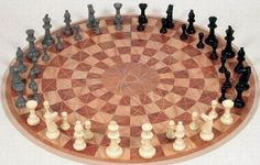 For when that third person comes over, chess for three. Now I need to learn to play chess...