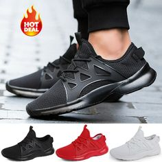 big sale cd753 2581e Fashion Mens Trainers Running Fitness Shoes Mesh Sneakers Lace Up  Breathable USA  fashion  clothing