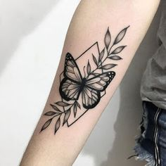 The 29 Best Butterfly Tattoo Ideas … ink ✨ - tattoo feminina Forearm Tattoos, Body Art Tattoos, New Tattoos, Sleeve Tattoos, Tatoos, Arabic Tattoos, Calf Tattoo, Dragon Tattoos, Pretty Tattoos