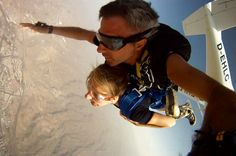 Salto tándem en paracaidas en Gran Canaria