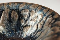 RARE JIAN WARE 'OIL STREAKS' TEA BOWL