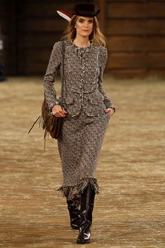Chanel Metiers d'Art Paris-Dallas - Pasarela