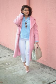 nadia aboulhosn: White Skinny Jeans