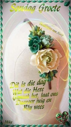 Lekker Dag, Sunday Greetings, Goeie More, Afrikaans Quotes, Good Morning Wishes, Qoutes, Bible, Birthday, Inspiration
